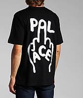Футболка мужская с принтом Palace finger-up-skate