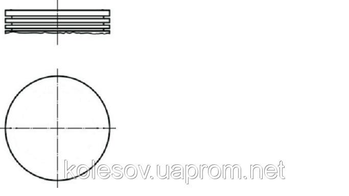 Поршні FORD Granada (Escort, Cortina, Capri, Taunus) 1.6 OHC