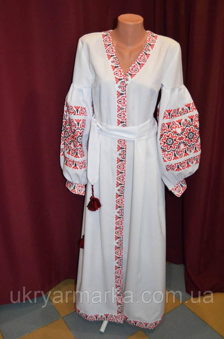 """Вишита сукня бохо """"Божена"""", Українська вишиванка з Коломиї."""