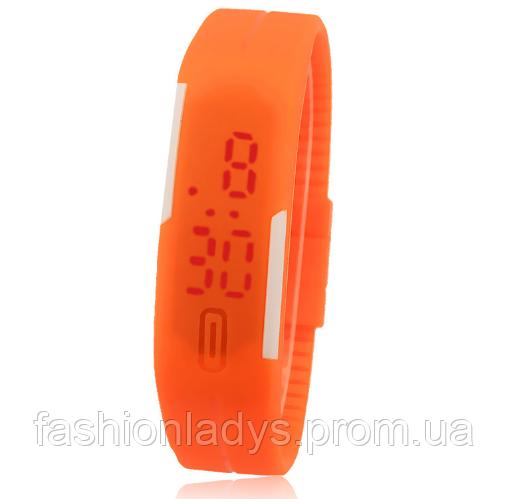 Спортивные силиконовые Led часы  продажа 06973e8d90fe4
