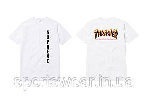 Футболка мужская Supreme - Thrasher | Трешер Футболка