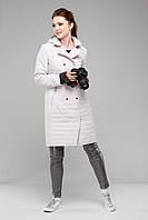 Женское пальто куртка стеганное на весну/осень размер 44-54 разных цветов