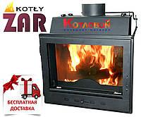 Печь-камин с водяным контуром ZAR ISKRA  (Жар Искра) 17 кВт