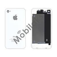 Задняя крышка для iPhone 4, цвет белый, копия