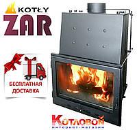 Печь-камин с водяным контуром ZAR ISKRA  (Жар Искра) 24 кВт