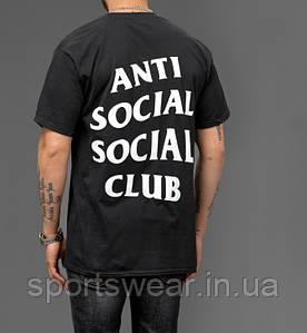 "Футболка A.S.S.C. Anti Social social club |Бирки | мужская Футболка АССК """" В стиле Anti Social Social Club """""