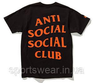 Футболка A.S.S.C. Paranoid | Anti Social social club |Бирки | мужская Футболка АССК Параноид