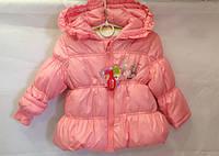 Пальто детское для девочки 86-98