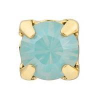Стразы Swarovski в золотых цапах 17704 Gold Pacific Opal