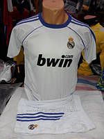 Футбольная форма детская Real Madrid белая
