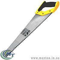 Ножовка столярная 400 мм, 4TPI MAX CUT, каленый зуб, 2-D заточка, полированная MasterTool