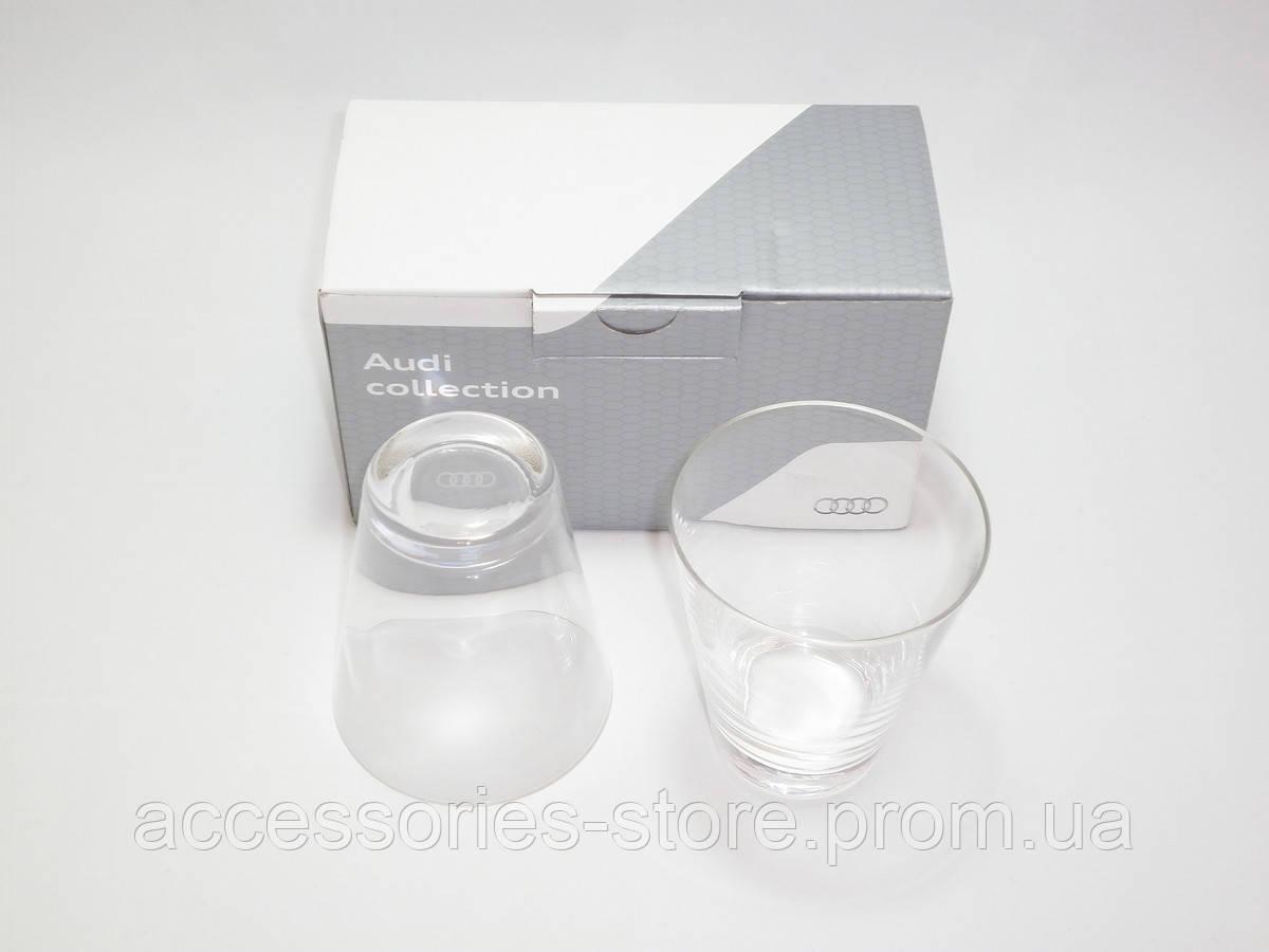 Набор из двух стеклянных стаканов Audi Waterglasses