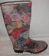 Женская обувь. Силиконовые сапоги