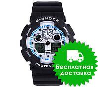 Часы Casio G-Shock GA-100 Black White
