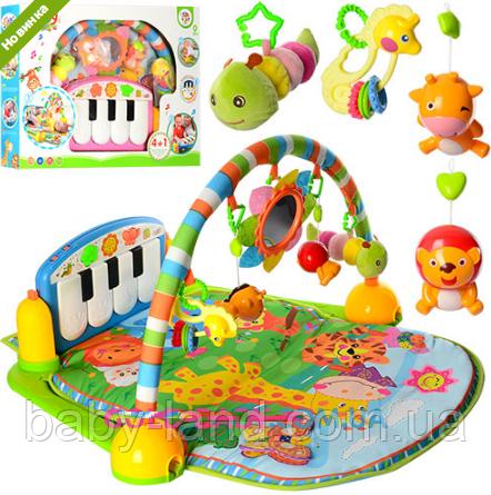 Коврик для младенца развивающий с пианино (аналог Fisher Price) PA318