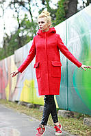 Пальто красивое молодежное 2017 из шерсти букле 42-48 размеры разных цветов