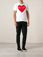 Футболка COMME DES GARCONS PLAY RED | Футболка CDG