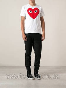 """Футболка COMME DES GARCONS PLAY RED 