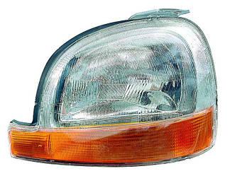 Фара головного світла передня L (ліва) на Renault Kangoo 97->2003 — Depo (Тайвань) 551-1127L-LD-EM