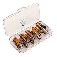 Тефлоновая форма для наращивания ногтей, многоразовая  5 шт, фото 1