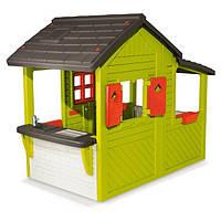 Детский игровой домик со звонком Neo Floralie Smoby 310300