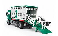 Машинка MAN для перевозки животных Bruder 02749