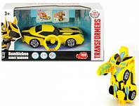 Автомобиль Трансформер 15 см Бамблби со светом и звуком Dickie Toys 3113000