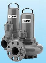 Каналізаційні насоси HOMA (св. прохід 70-200 мм)