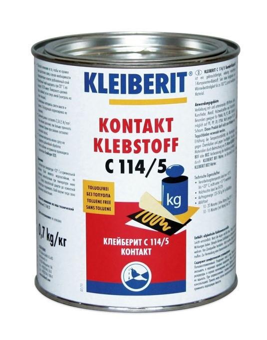 Контактный клей Клейберит С114/5 (0,7 кг)