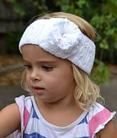 Весенняя широкая повязка для девочки, фото 1