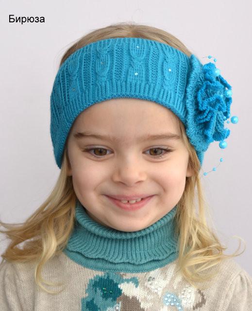 Весенняя повязка для девочки