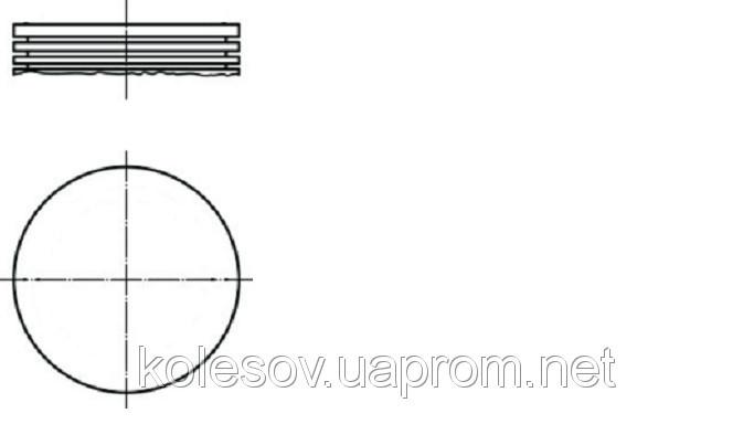 Поршни FORD Sierra (Escort, Cortina, Granada, Taunus) 1.6 OHC д. 87,68мм