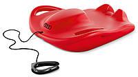 Детские санки Audi snow bob w/strap, red