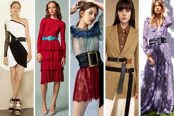 Модные пояса 2017