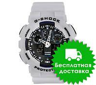 Часы Casio G-Shock GA-100 White Black