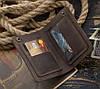 """Портмоне гаманець клатч шкіряний гаманець """"S"""" ручної роботи, натуральна шкіра, на кнопках"""