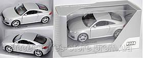 Инерционный автомобиль Audi TT Pullback, Scale 1:38, Floret silver
