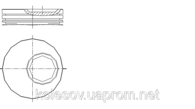 Поршні FORD Fiesta (Orion, Escort) 1.3 OHV