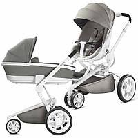 Детская универсальная коляска 2 в 1 Quinny Moodd 2017 (шасси белое)