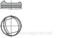 Поршни FORD Escort (Orion, Fiesta) 1.6 CVH