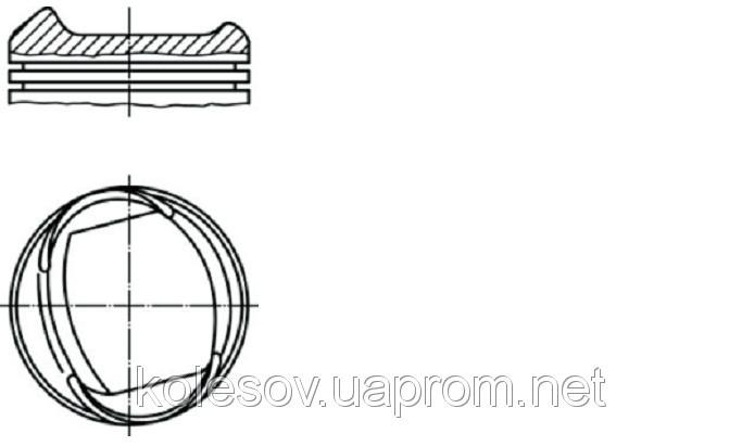 Поршні FORD Fiesta (Orion, Escort) 1.6 CVH