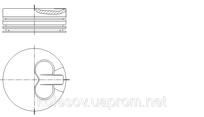 Поршни FORD Escort (Orion, Fiesta) 1.6 D