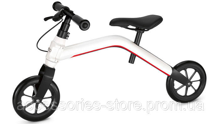 Беспедальный велосипед Audi junior runner, white