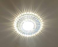 """Точечный светильник Feron 7312 В (большой) """"3W + лампа"""""""