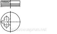Поршні FORD Sierra 2.3 D д. 94мм