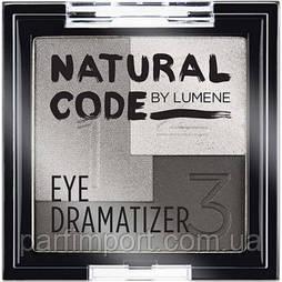 Lumene Natural Code Eye Dramatizer  8 ТЕНИ 3-Х ЦВЕТНЫЕ (оригинал подлинник  Финляндия)