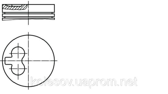 Поршни FORD Scorpio 2.5TD д. 94мм