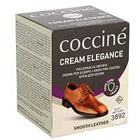 Крем, уход и защита обуви из гладкой кожи темно-зелёный. Creame Coccine 50 ml 32