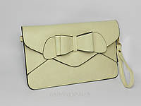 Женский клатч - конверт  Бант  разные цвета