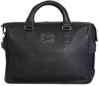 Мужская сумка 30405 из кожзаменителя 20 л, черная